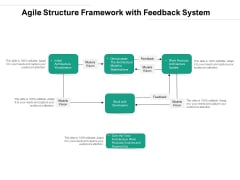 Agile Structure Framework With Feedback System Ppt Powerpoint Presentation Professional Slides Pdf