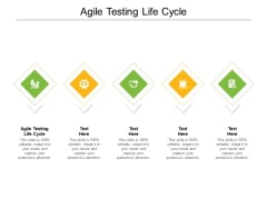 Agile Testing Life Cycle Ppt PowerPoint Presentation Model Structure Cpb Pdf