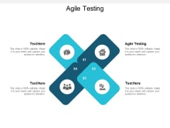 Agile Testing Ppt PowerPoint Presentation Model Layout Ideas Cpb