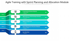 Agile Training With Sprint Planning And Allocation Module Ppt PowerPoint Presentation Summary Graphic Images PDF