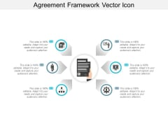 Agreement Framework Vector Icon Ppt Powerpoint Presentation Infographic Template Graphic Tips