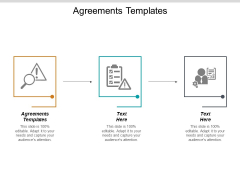 Agreements Templates Ppt PowerPoint Presentation Model Layouts Cpb