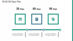 Aim And Objective Statement 30 60 90 Days Plan Ppt Summary Visuals PDF