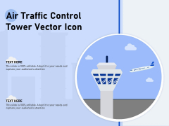 Air Traffic Control Tower Vector Icon Ppt PowerPoint Presentation Ideas Graphics PDF