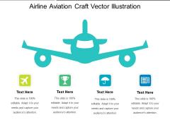Airline Aviation Craft Vector Illustration Ppt PowerPoint Presentation Gallery Format PDF