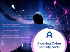 Alarming Cyber Security Facts Ppt PowerPoint Presentation Portfolio Designs