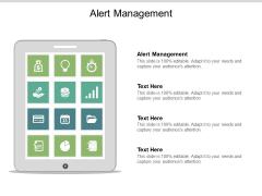 Alert Management Ppt PowerPoint Presentation Inspiration Professional Cpb