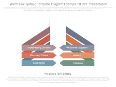 Alertness Pyramid Template Diagram Example Of Ppt Presentation