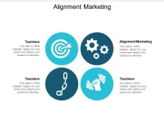 Alignment Marketing Ppt PowerPoint Presentation Icon Deck Cpb