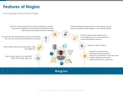 All About Nagios Core Features Of Nagios Ppt PowerPoint Presentation Pictures Maker PDF