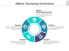 Alliance Structuring Governance Ppt PowerPoint Presentation Professional Design Inspiration Cpb Pdf