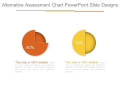 Alternative Assessment Chart Powerpoint Slide Designs