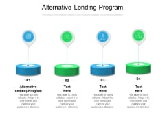 Alternative Lending Program Ppt PowerPoint Presentation Portfolio Topics Cpb