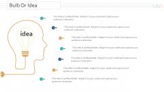 Amalgamation Acquisitions Bulb Or Idea Ppt Infographics Templates PDF