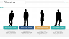 Amalgamation Acquisitions Silhouettes Ppt Ideas Objects PDF