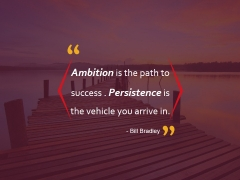Ambition Is The Path To Success Ppt PowerPoint Presentation File Visuals