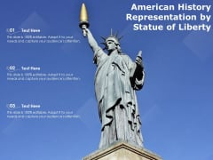 American History Representation By Statue Of Liberty Ppt PowerPoint Presentation Icon Pictures PDF