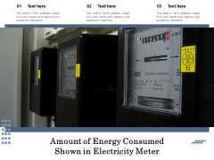 Amount Of Energy Consumed Shown In Electricity Meter Ppt PowerPoint Presentation File Graphic Tips PDF