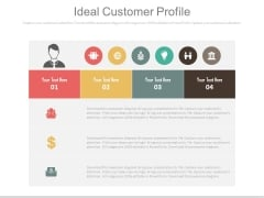 An Ideal Customer Profile Ppt Slides