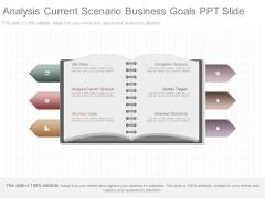 Analysis Current Scenario Business Goals Ppt Slide
