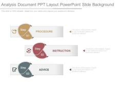 Analysis Document Ppt Layout Powerpoint Slide Background