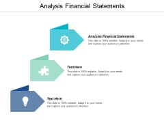 Analysis Financial Statements Ppt Powerpoint Presentation Icon Cpb