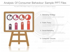 Analysis Of Consumer Behaviour Sample Ppt Files