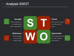 Analysis Swot Ppt PowerPoint Presentation Tips