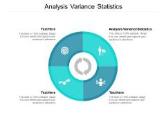 Analysis Variance Statistics Ppt PowerPoint Presentation Pictures Slide Cpb