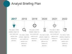 Analyst Briefing Plan Ppt PowerPoint Presentation Icon