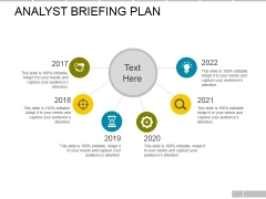 Analyst Briefing Plan Ppt PowerPoint Presentation Infographics Professional