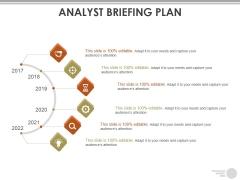 Analyst Briefing Plan Ppt PowerPoint Presentation Layouts Slide Portrait