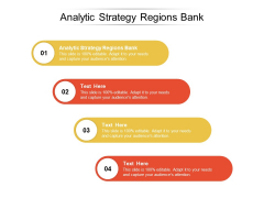 Analytic Strategy Regions Bank Ppt PowerPoint Presentation Model Background Image Cpb