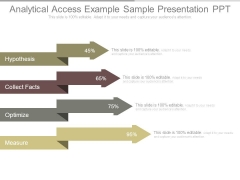 Analytical Access Example Sample Presentation Ppt
