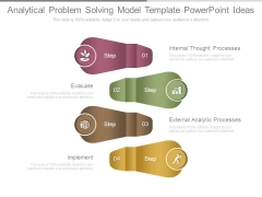 Analytical Problem Solving Model Template Powerpoint Ideas