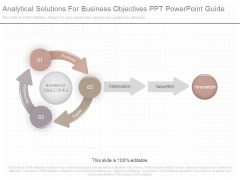 Analytical Solutions For Business Objectives Ppt Powerpoint Guide