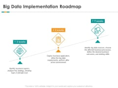 Analytics Big Data Implementation Roadmap Ppt Icon Styles PDF
