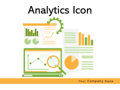Analytics Icon Dashboard Speedometer Ppt PowerPoint Presentation Complete Deck