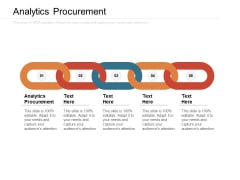 Analytics Procurement Ppt PowerPoint Presentation Show Infographics Cpb Pdf