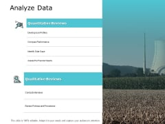 Analyze Data Slide Compare Performance Ppt PowerPoint Presentation Infographic Template Slide Portrait