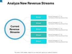 Analyze New Revenue Streams Ppt PowerPoint Presentation Gallery Graphics Pictures