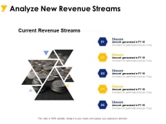 Analyze New Revenue Streams Ppt PowerPoint Presentation Infographic Template Templates