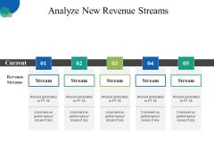 Analyze New Revenue Streams Ppt PowerPoint Presentation Infographics Background Designs