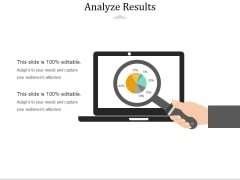 Analyze Results Ppt PowerPoint Presentation Professional Guide