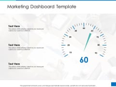 Analyzing Requirement Management Process Marketing Dashboard Template Topics PDF