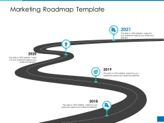Analyzing Requirement Management Process Marketing Roadmap Template Structure PDF