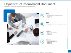 Analyzing Requirement Management Process Objectives Of Requirement Document Demonstration PDF