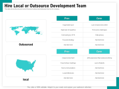 Android Framework For Apps Development And Deployment Hire Local Or Outsource Development Team Ppt Show Deck PDF