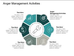 Anger Management Activities Ppt PowerPoint Presentation Professional Layouts Cpb