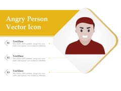 Angry Person Vector Icon Ppt PowerPoint Presentation File Inspiration PDF